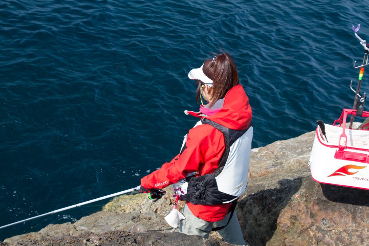 [磯釣りやろうぜ]磯釣り女子会vol.2 in 静岡県 神子元島 開催しました!