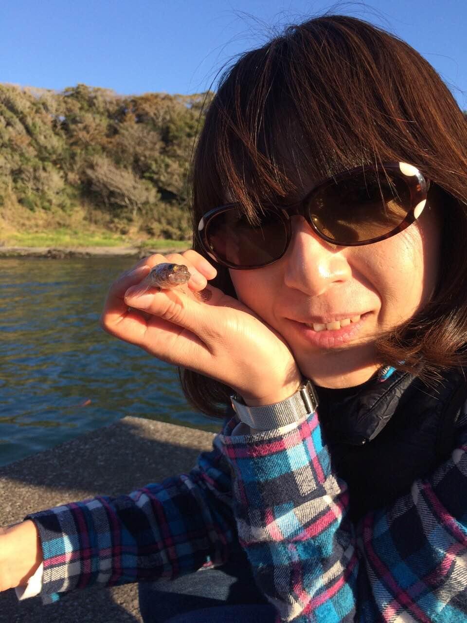 堤防釣りでオハグロベラとの出会い