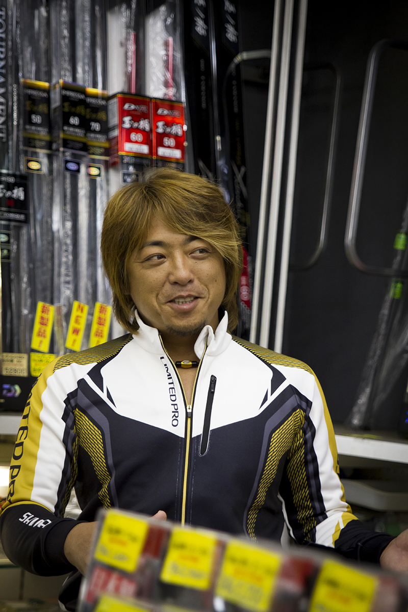 磯づり館秋のBIGイベント第4弾shimano新製品フェア 平和卓也さんご来店!
