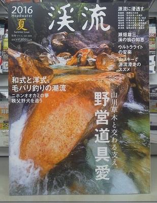 渓流 2016夏