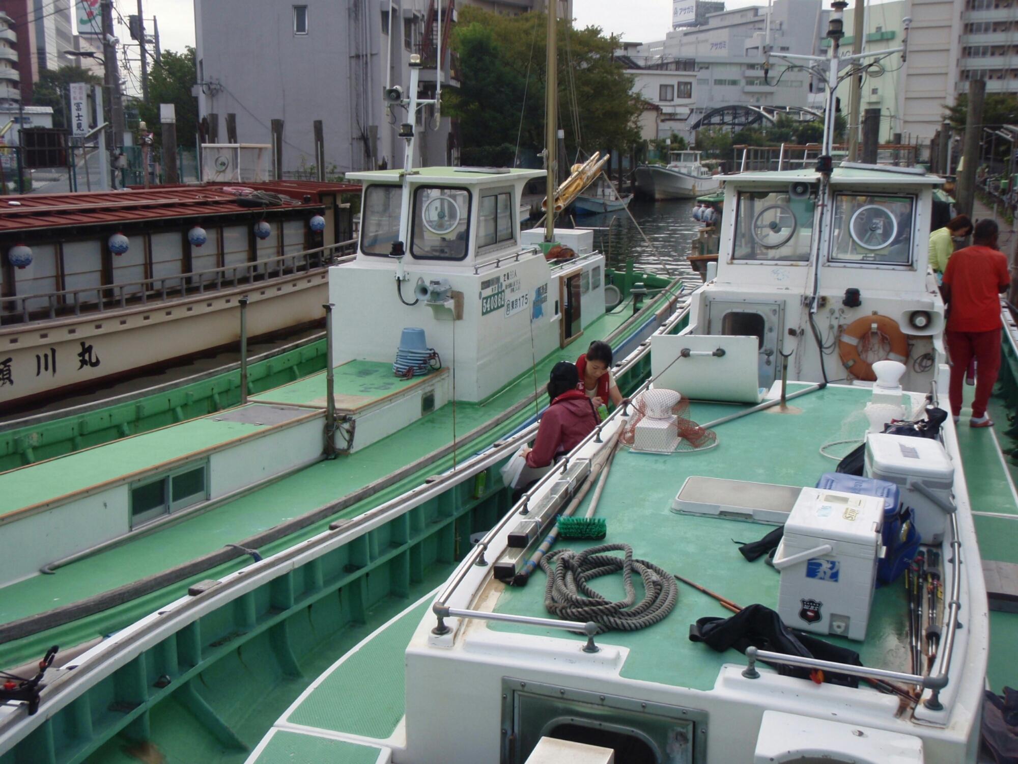 サンスイ 渋谷本店 (SHIBUYA THE MAIN SANSUI)海釣り館・船釣り館・川釣り館      深川出船のハゼ